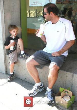 Pete Sampras and Son Christian Sampras
