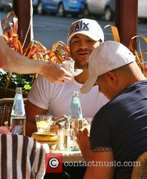 Peter Andre and his brother Mike