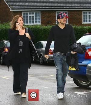 Peter Andre and Manager Claire Powell