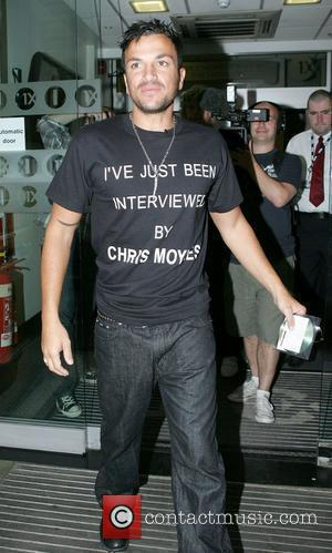 Peter Andre and Chris Moyles