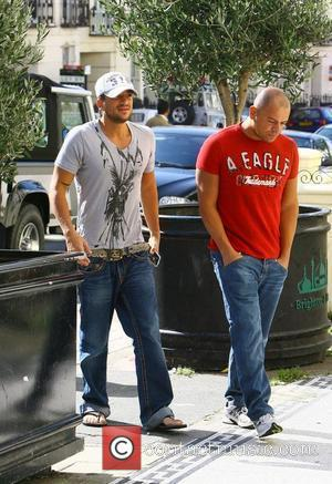 Peter Andre and His Brother Mike Andre