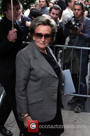 Bernadette Chirac and Christian Dior