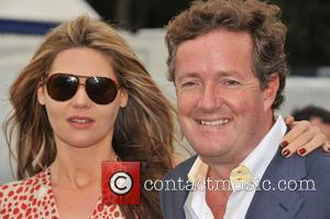 Celia Walden and Piers Morgan  Cartier International Polo Tournament held at the Guards Polo Club  Windsor, England -...
