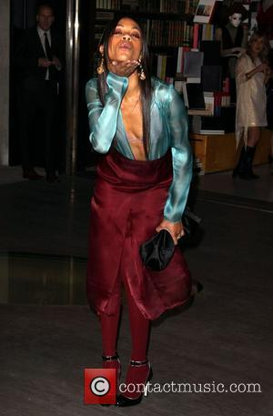 Zoe Saldana Prada book launch cocktail party held at the Prada store Beverly Hills Los Angeles, California - 13.11.09