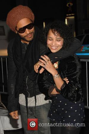 Lenny Kravitz and his daughter Zoe Kravitz  The New York premiere of 'Precious' at the Alice Tully Hall New...