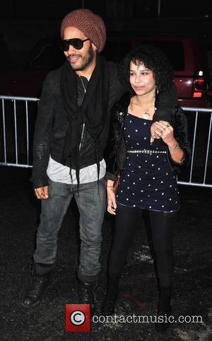 Lenny Kravitz and daughter Zoe Kravitz The New York premiere of 'Precious' at the Alice Tully Hall New York City,...