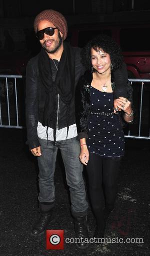 Lenny Kravitz and Daughter Zoe Kravitz