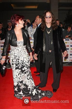 Sharon Osbourne and Ozzy Osbourne Pride of Britain Awards 2009 held at Grosvenor House hotel London, England - 05.10.09