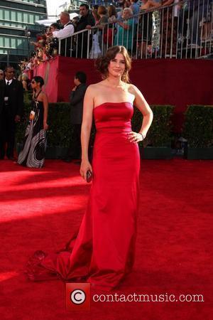 Hope Davis 61st Primetime Emmy Awards held at the Nokia Theatre  Los Angeles, California, USA - 20.09.09