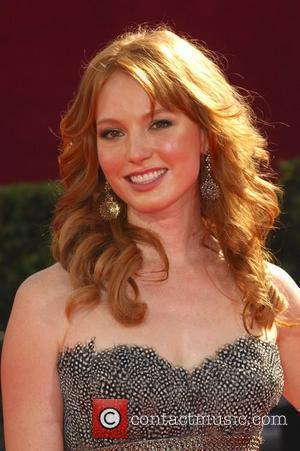 Alicia Witt 61st Primetime Emmy Awards held at the Nokia Theatre - Arrivals Los Angeles, California - 20.09.09
