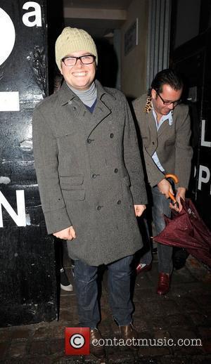 Alan Carr  The Prince's Rain Forest reception. London, England - 12.11.09