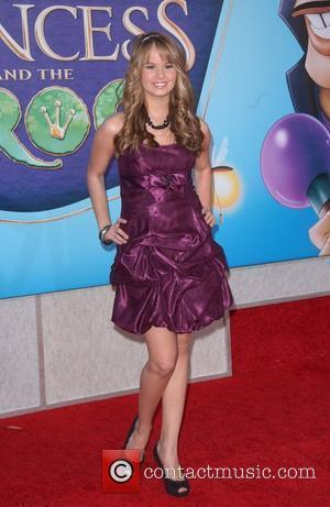 Debby Ryan 'The Princess And The Frog' premiere at Walt Disney Studios - Arrivals Burbank, Caifornia - 15.10.09