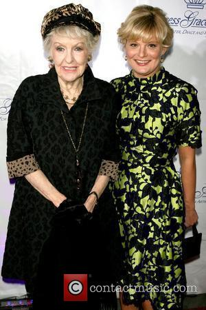 Elaine Stritch and Martha Plimpton 2009 Princess Grace Awards Gala at Cipriani 42nd Street - Arrivals New York City, USA...
