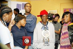 Flavor Flav and Youth At The Sasha Bruce House