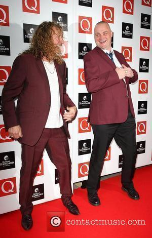 Robert Plant and Al Murray The Q Awards 2009 - arrivals London, England - 26.10.09