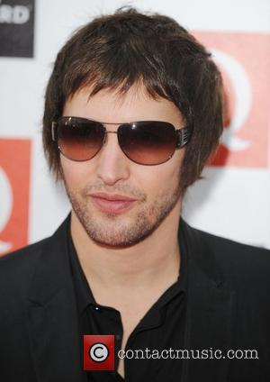 James Blunt at The Q Awards held at Grosvenor House - Arrivals London, England - 26.10.09