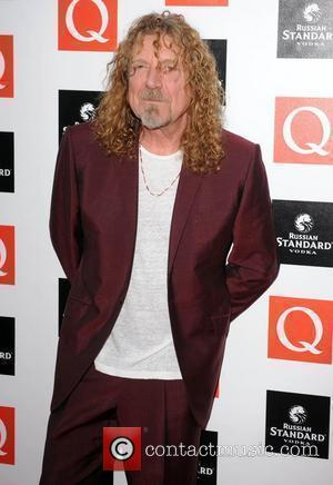 Robert Plant at The Q Awards held at Grosvenor House - Arrivals London, England - 26.10.09