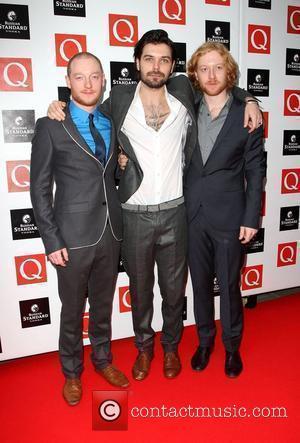 Ben Johnson, Simon Neil and James Johnson from Biffy Clyro The Q Awards 2009 - arrivals London, England - 26.10.09