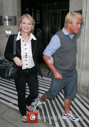 Cheryl Baker and Mike Nolan at the Radio 2 studios. London, England - 16.09.09