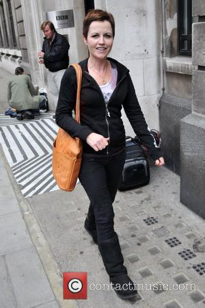 Dolores O'Riordan Outside the BBC Radio 2 studios London, England - 07.09.09