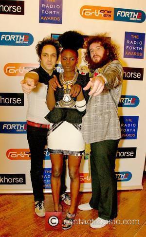 Noisettes The Radio Forth Awards 2009 Edinburgh, Scotland - 18.11.09