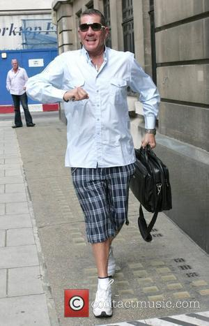 Dale Winton outside the Radio Two studios London, England - 14.08.09