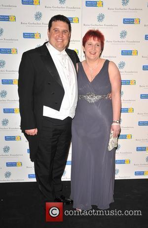 Peter Kay and Susan Kay  Raisa Gorbachev Foundation Party held at Hampton Court Palace London, England - 06.06.09