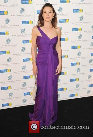 Claire Forlani  Raisa Gorbachev Foundation Party held at Hampton Court Palace. London, England - 06.06.09