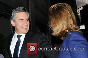 Gordon Brown and Tana Ramsay