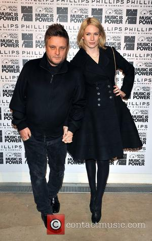 Rankin and girlfriend Tuuli Shipster Rankin and Youth Music's 'Destroy' Exhibition Private View held at Phillips de Pury Gallery London,...