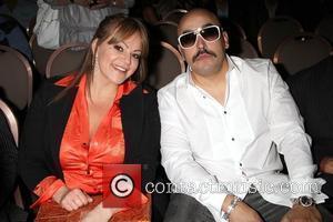 Jenni Rivera and Lupillo Rivera Las Vegas Walk Of Stars Honors Raul De Moliina & Lili Estefan With 38th And...