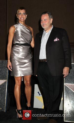 Raul De Molina and Lili Estefan Las Vegas Walk Of Stars Honors Raul De Moliina & Lili Estefan With 38th...