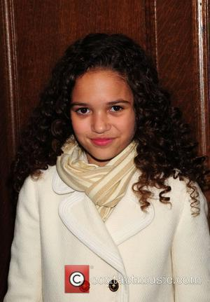 Madison Pettis Read for the Record held at New York Public Library New York City, USA - 08.10.09