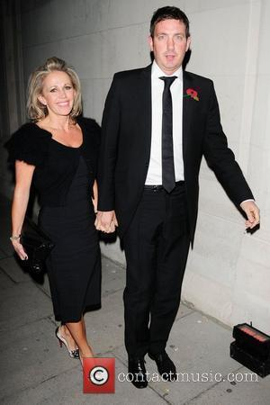 Lucy Benjamin and husband Richard Taggart The Red Room Opening Party at Les Ambassadeurs Club - Departures London, England -...