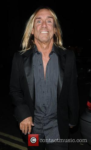 Iggy Pop The Red Room Opening Party at Les Ambassadeurs Club - Departures London, England - 02.11.09