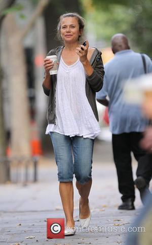 Lena Olin on the set of 'Remember Me' New York City, USA - 09.07.09
