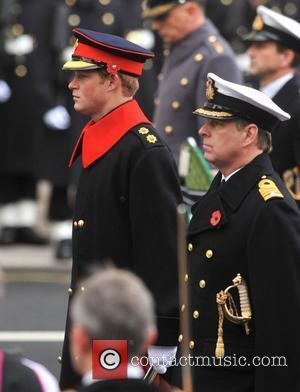 Prince Harry and Prince Andrew