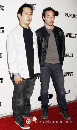 Hosts Joseph Hahn of 'Linkin Park' and John Hensley of 'Nip/Tuck' Riders For Health Benefit Event held at SURU on...