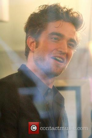 'Twilight' hunk Robert Pattinson inside the NBC studios to talk about his new film 'The Twilight Saga: New Moon' on...