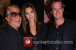 Roberto Cavalli, Cindy Crawford and Randy Gerber Roberto Cavalli celebrates Fashion's Night Out 2009 New York City, USA - 10.09.09