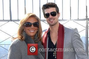 Denise Rich and Robin Thicke