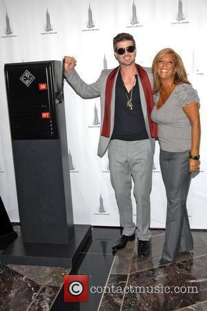 Robin Thicke and Denise Rich