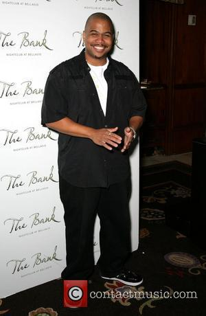Omar Gooding Robin Thicke gives a special performance at Bank nightclub inside the Bellagio Resort Hotel Casino Las Vegas, Nevada...