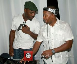 Idris Elba and Russell Simmons
