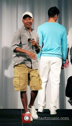 Model and Russell Simmons