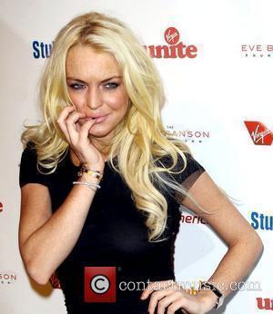 Lindsay Lohan and Richard Branson