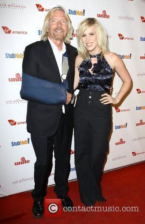 Richard Branson and Natasha Bedingfield