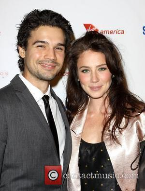 Steven Strait and Lynn Collins Sir Richard Branson and Eve Branson host 'Rock The Kasbah' held at Vibiana - Arrivals...
