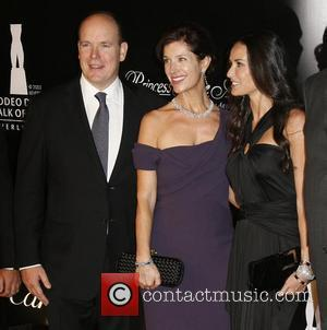 Prince Albert II of Monaco, Guest and Demi Moore Rodeo Drive Walk Of Style Award held on Rodeo Drive -...