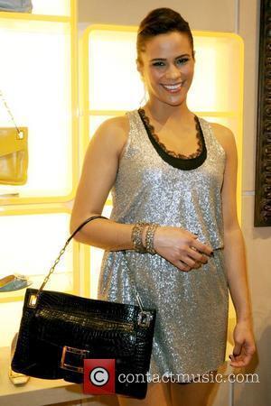 Paula Patton Roger Vivier Boutique opening party at Bal Harbour Shops - Inside Miami, Florida - 01.12.09